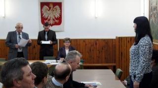 2014.12.01 - I Sesja Rady Gminy Grabowiec w nowej kadencji-12