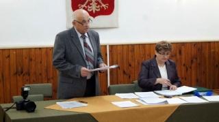 2014.12.01 - I Sesja Rady Gminy Grabowiec w nowej kadencji-2