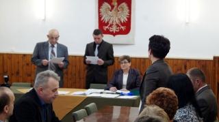 2014.12.01 - I Sesja Rady Gminy Grabowiec w nowej kadencji-9