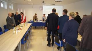 I sesja Rady Gminy Grabowiec-16