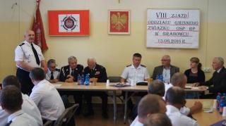 VIII Zjazd Oddziału Gminnego Związku Ochotniczych Straży Pożarnych -1