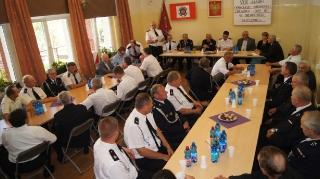VIII Zjazd Oddziału Gminnego Związku Ochotniczych Straży Pożarnych -5